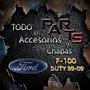 Paragolpe Trasero Cromado 06/-- Ford F-100 Duty Y Mas...