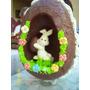 Hermosos Huevos De Pascuas Artesanales