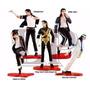 Set Michael Jackson 5 Figuras Muñeco De Coleccion Con Base