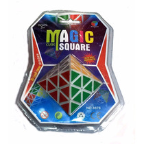 Cubo Mágico Octaedro - Magic Cube Square - Villa Urquiza