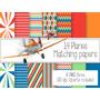 Kit Imprimible Planes 42 Clipart - 14 Fondos.-