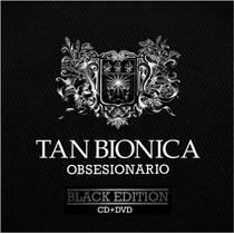 Cd Tan Bionica Obsesionario Black Edition(cd+dvd) Open Music
