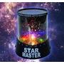 Velador Lampara Proyector Estrellas Star Master Usb O Pilas