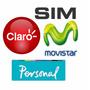 Sim Chip Prepago Personal Movistar Claro 4g Lte