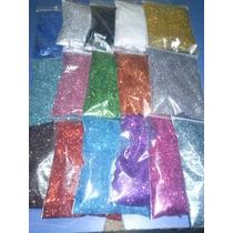 Givre, Purpurina, Glitter Colores Brillantes X 200gs.
