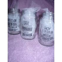Frascos Vaso De Vidrio Personalizados El Mejor Precio