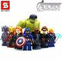 Avengers Era De Ultron - Set Completo X 8 Mini Figuras - S Y