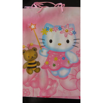 Souvenirs X6 Bolsa De Papel Hello Kitty