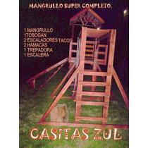 Casita Mangrullo De Madera Infantil