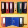 Bibliorato De Color Pvc - Tamaño A4 / Legal / Esquela- X 10u