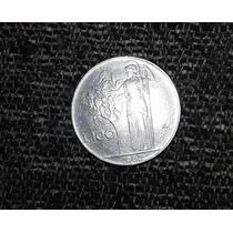 Moneda 100 Lire (cien Liras) ** 1962 ** Republica Italiana