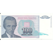 Yugosavia 100 Dinara P139a 1994 S/c