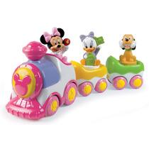 Nuevo Trencito Musical Disney Minnie C/musica Ruidos Y Luces