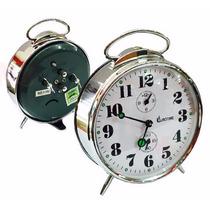 Reloj Despertador Cuerda Mecanico Eurotime Envio Promo Cap