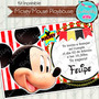 Kit Imprimible Mickey Playhouse Decoración Candy Bar Cumple