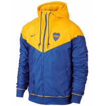 Campera Nike Boca Jrs Windrunner Super Oferta Tenela Ya !