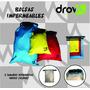 Bolsas Impermeables - Tamaño Mediano - Variedad De Colores