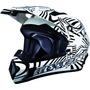 Casco Bmx Moto Cross Enduro Cuatri Premium Zpf Excelente