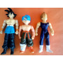 Lote X 3 Muñecos Dragon Ball Z Anime