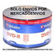 Dvd Verbatim -r Bulk X 50 Estampados (solo X Mercadoenvios)