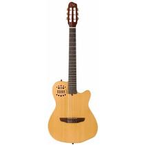 Guitarra Godin Multiac Acs Slim Cedar Nat Con Funda Nueva
