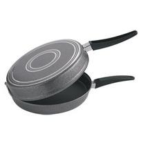 Omeletera Doble 24cm Antiadherente