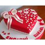 Tortas Corazon Nena 15 Años Cumpleaños Infantil X Kg