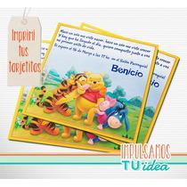 Winnie Pooh - Invitación Para Imprimir