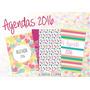 Kit Imprimible Calendario + Agenda 2016