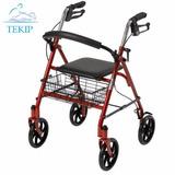 Caminador Andador Ortopedico Plegable Asiento Canasto Envíos