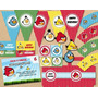 Kit Imprimible Angry Birds Candy Bar Cotillon 2x1