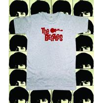 Reptilia Remeras Rock The Beatles (código 02)
