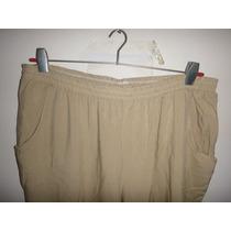 Pantalones De Fibrana Nuevos Talles Especiales Talle 8