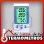 Termóhigrometro Digital Con Sensor In/out Temperatura