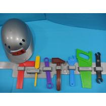 Herramientas Infantiles Con Cinturon Y Casco