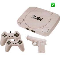 Family Game Alien 1 Completo +2 Joysticks +pistola +juegos !