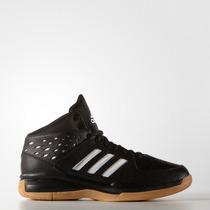 Zapatillas De Basketball Adidas Court Fury Negro/blanco