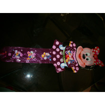 Globos Cumpleaños Mickey Minnie Princesa Oferta C/ Luz Luces