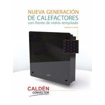 Calefactor Sin Salida Frente Vidrio Templado 3000 Kca Calden