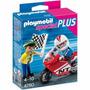 Playmobil 4780 Moto De Carreras 2 Personajes
