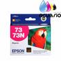 Cartucho Epson T73n 73 Orignal Color Caja Tx220 C110 Tx105 A