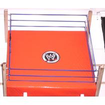 Wwe Lucha Libre - Ring Con Cuerdas - 40 Cm - Fair Play Toys.