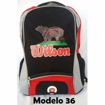 Mochilas Wilson Modelos 2015 De México Llavero De Regalo