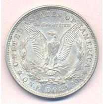 Usa Dolar Morgan 1921 Plata Excelente + Silver Crown Dollar