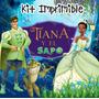 Kit Imprimible Tiana Y El Sapo Invitaciones Tarjetas Frames