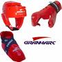 Combo Gran Marc Junior Cabezal + Guante + Zapato Sparring