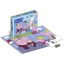 Peppa Pig Rompecabezas Puzzle 24 Piezas Original