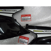 Cachas Lateral Plastico Negro Honda Xr Tornado Centro Motos