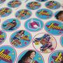 Stickers Candy Bar Golosinas Personalizadas