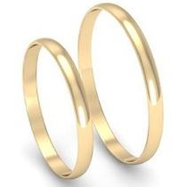 Par Alianzas Casamiento Compromiso Oro 18 Kt